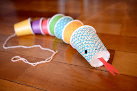 snake craft idea for kids preschool and kindergarten
