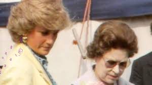 lady charlotte diana spencer queen elizabeth ii and lady diana spencer youtube