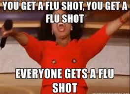 Meme Shot - all about flu shots medspring blog