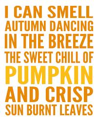 fall poem printable
