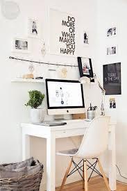White Home Interior Design by Best 20 White Desks Ideas On Pinterest Chic Desk Home Office
