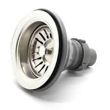 ECOSPA Kitchen Sink Waste Strainer Plug Basket WITHOUT OVERFLOW - Kitchen sink waste strainer