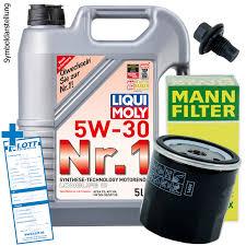 nissan maxima zahnriemen oder steuerkette ölwechsel set 5l 5w30 öl motoröl liqui moly mann ölfilter