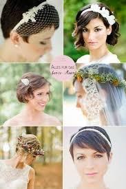 Hochsteckfrisurenen Kurze Haar Hochzeit by Best 25 Brautfrisur Kurze Haare Ideas On