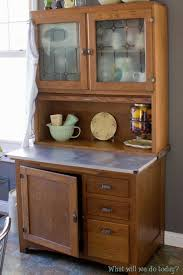 Sellers Kitchen Cabinets Furniture Gorgeous Antique Hoosier Cabinet With Glass Doors For