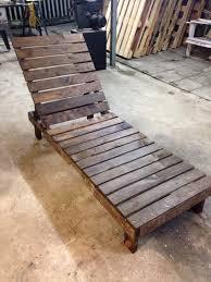 Diy Chaise Lounge Diy Pallet Lounge Chair U2013 Patio Furniture 101 Pallets