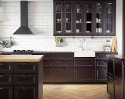 ikea kitchen ideas and inspiration kitchen ikea create classic drama with black brown and oak