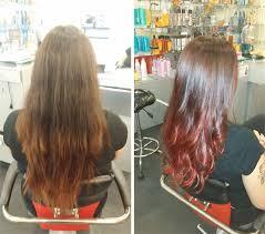 ponytail haircut technique the ponytail technique the secret to a faster ombre hair color