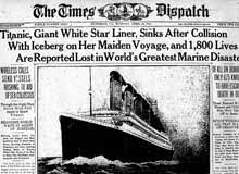 the sinking of the titanic 1912 1912 the sinking of the titanic summary of sos titanic