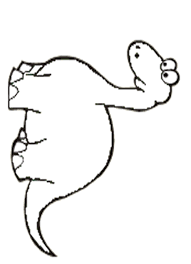 dinosaur coloring pages kids clip art library
