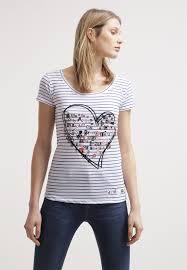 desigual designer desigual luisana print t shirt algodón t shirts desigual