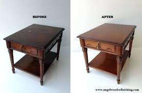 how to refinish a wood table wood table restoration dining table with extension shaker custom