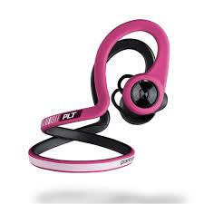 fuschia plantronics backbeat fit wireless sport headphones fuschia