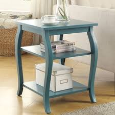 Teal Accent Table Teal Accent Table Wayfair