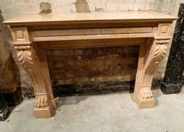 top french fireplace surrounds on interior with antique french