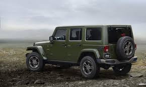 jeep punjabi 2017 jeep wrangler 75th anniversary rack and opinion