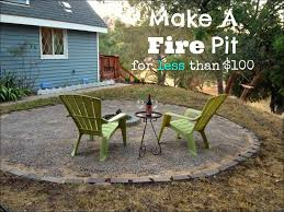 exteriors marvelous stone wood burning fire pits cheap fire pits