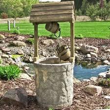 water fountain outdoor american wishing well for garden backyard