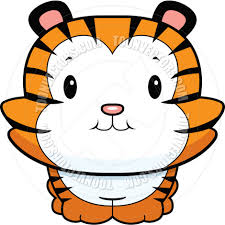 tiger clipart baby tiger pencil and in color tiger clipart baby