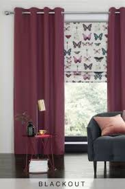 Red Blackout Blind Buy Curtains And Blinds Curtains Purple Black Out Blackout From