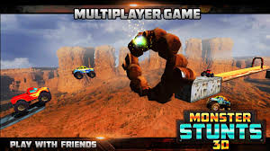 play online monster truck racing games 3d monster stunts android apps on google play