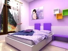 Light Purple Bedroom Purple And Blue Bedroom Blue Bed On White Platform Completed Light
