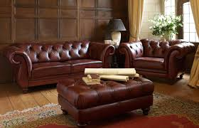 Leather Chesterfield Sofas For Sale by Living Room And Furniture Designing With Chesterfield Sofa And