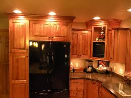 Lowes Hickory Kitchen Cabinets by Dining U0026 Kitchen Enrich Your Kitchen Ideas With Pretty Kraftmaid