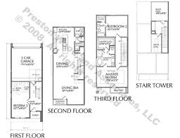 Duplex Townhouse Plans Townhouse Plan D5153 A U0026 A Flipped