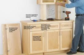 how to build kitchen cabinets from scratch make cabinets the easy way wood magazine