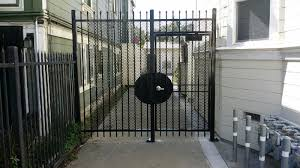 Front Door Security Gate by Gates Reed Brothers Security