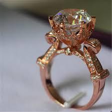 verlobungsring gr e erstaunlich große stein 5 ct simulieren diamant verlobungsring