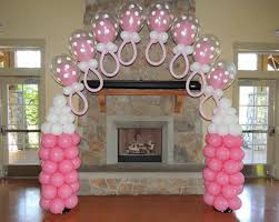 baby shower balloon decorations pacifier arches mmballoons