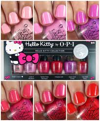 nail juice opi hello kitty 2016 travel exclusive