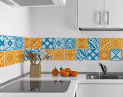 tile decals for kitchen backsplash backsplash decal etsy
