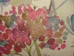 Upholstery Fabric Uk Online Voyage Decoration Hedgerow Linen Floral Designer Curtain