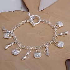 fine silver plated bracelet images Bracelet plated silver bracelet fashion 925 jewelry silver for jpg