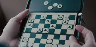 what is this mini chess set called from the movie