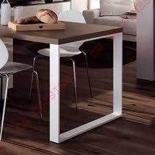 table rectangulaire de cuisine pied de table rectangulaire h71 achat vente de pieds et supports