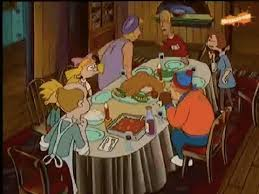 hey arnold shows us how sad thanksgiving in the closet can be