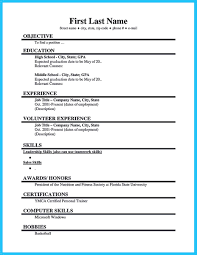 high student resume no experience sles cool best current college student resume with no experience