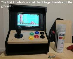raspberry pi mame cabinet your own mini arcade cabinet with raspberry pi