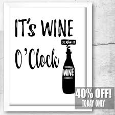 cool wine gifts home bar wall wine print wine gifts for best