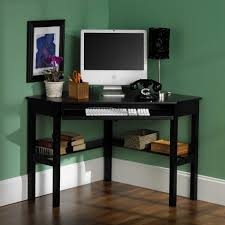 Computer Desk For Small Room Agreeable Corner Computer Desk Ideas For Small Spaces With Black