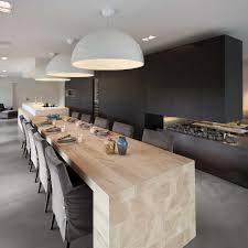 grand ilot de cuisine cuisine moderne avec ilot collection collection avec cuisine