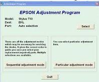 epson t13 resetter adjustment program free download reset epson tx110 and tx111 printer driver supports pinterest