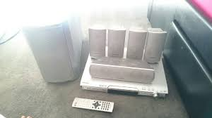 5 1 panasonic home theater system used panasonic surround sound system 5 1 in cf82 ystrad mynach for
