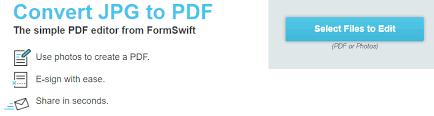 Jpg To Pdf Formswift Edit Pdf Documents