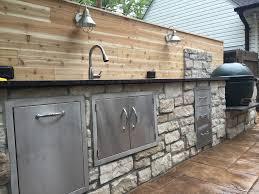 Green Egg Kitchen - big green egg outdoor kitchen u2014 luna builds