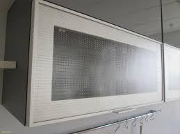 meuble vitré cuisine meuble de cuisine haut court porte relevante en verre excellent